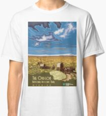 Vintage Travel Poster – The Oregon National Historic Trail Classic T-Shirt
