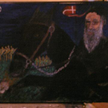 Portrait of Sven by schitzoziris