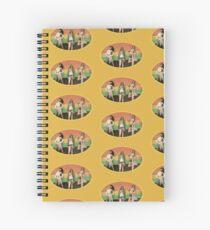 70's Groupies (Lori Maddox) Spiral Notebook