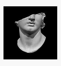 Kolossaler Kopf, halbiert Fotodruck