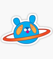 starry eyed planet Sticker