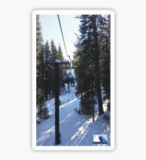 Snowy Scene 4 Sticker