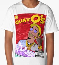 QuavO's Cereal (RED) Long T-Shirt