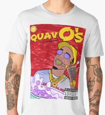 QuavO's Cereal (RED) Men's Premium T-Shirt