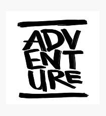Adventure ink  Photographic Print