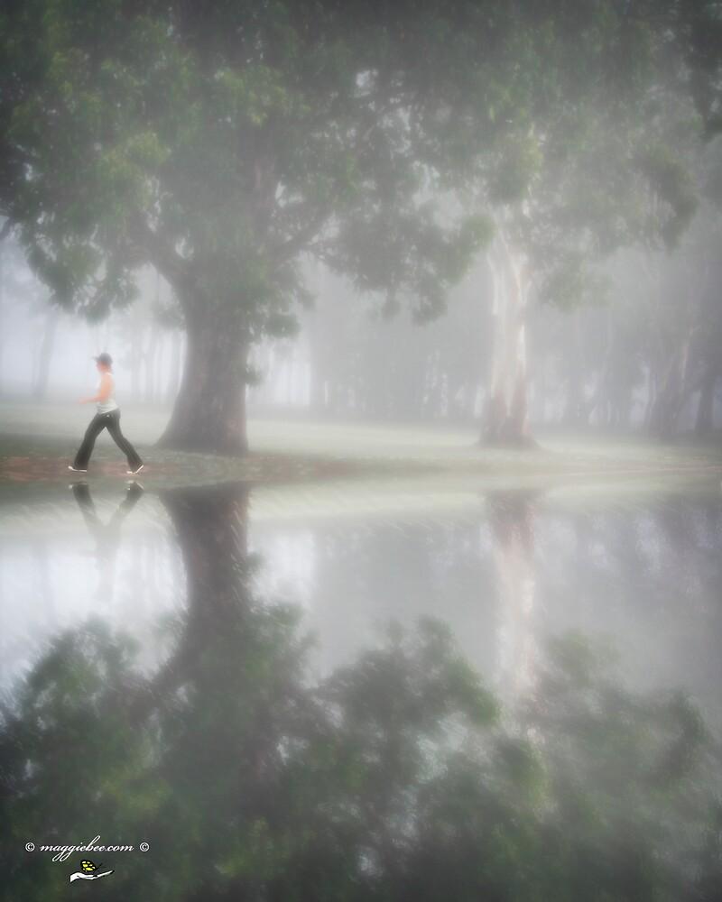 Misty Morning Walk by Maggiebee