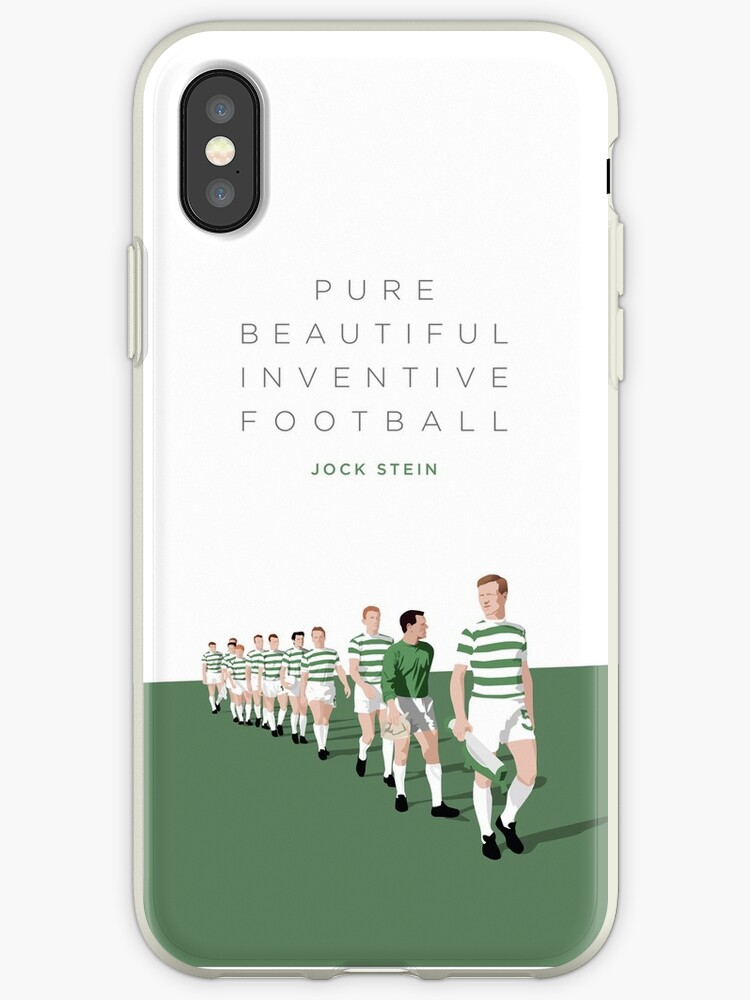 big sale 87125 098f0 'Pure Beautiful Inventive Football - Lisbon Lions' iPhone Case by  InsideTheHoops