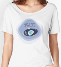 EARTH NOT A GLOBE Women's Relaxed Fit T-Shirt