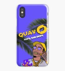 Quavo's Cereal (flat indigo) iPhone Case/Skin