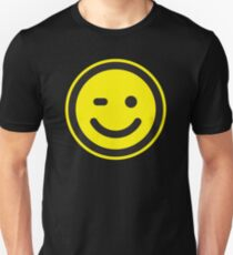 Smilie Face (request other colours) Slim Fit T-Shirt
