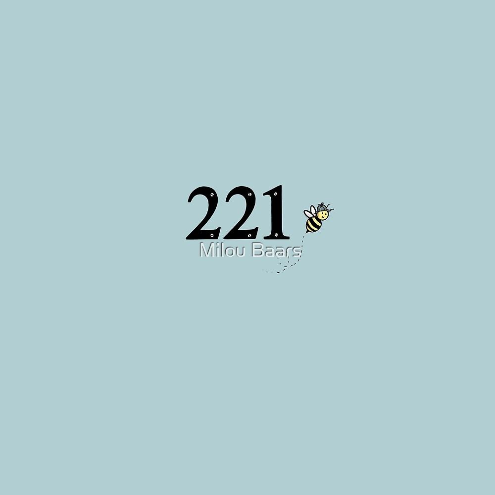 221b Bakerstreet by Milou Baars
