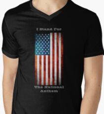 I Stand For The National Anthem Men's V-Neck T-Shirt