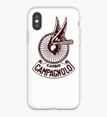 Campagnolo Cambio DARK RED iPhone Case