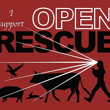 I Support Open Rescue by TheFruitBat