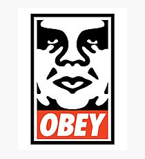 OBEY Photographic Print