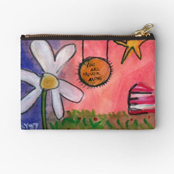 Project 321 - You are not alone. Zipper Pouch