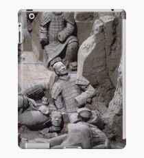 China. Xian. Terracotta Army. Fallen Warriors. iPad Case/Skin