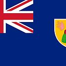 Turks and Caicos Islands Flag Products by Mark Podger