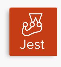 Jest Javascript Testing Logo Canvas Print