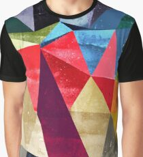 Abstract color pattern shapes Graphic T-Shirt