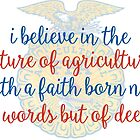 FFA Creed by Emily Cutter