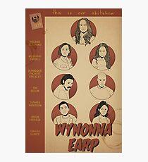 Wynonna Earp Poster Photographic Print
