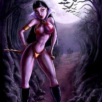Vampirella by trickmonkey