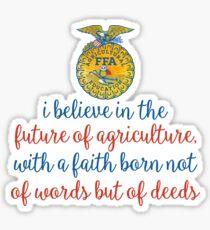 FFA Creed Sticker