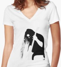 My Image Rocks Women's Fitted V-Neck T-Shirt