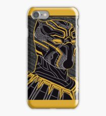The King - Panther Print iPhone Case/Skin