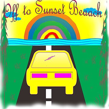 Off to sunset beach by klyy52