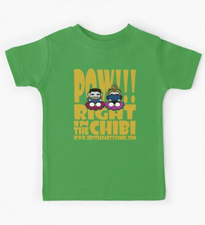 STPC: Pow!!! Right in the Chibi 2.0 Kids Clothes