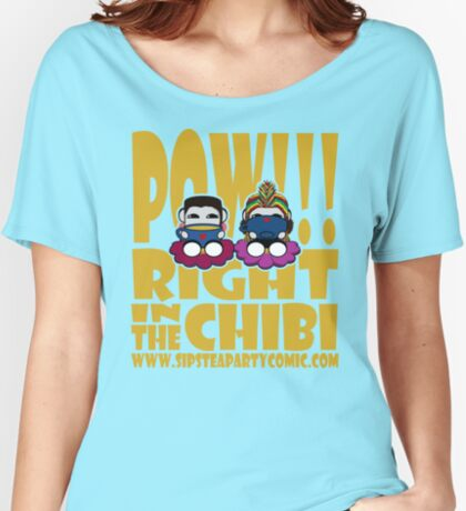 STPC: Pow!!! Right in the Chibi 2.0 Relaxed Fit T-Shirt