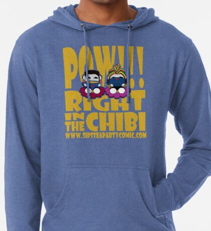 STPC: Pow!!! Right in the Chibi 2.0 Lightweight Hoodie