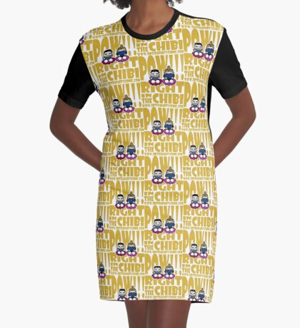 STPC: Pow!!! Right in the Chibi 2.0 Graphic T-Shirt Dress