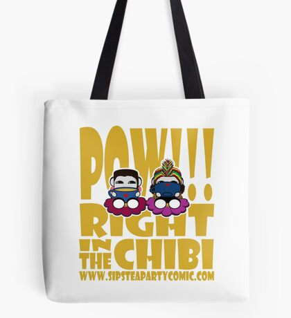 STPC: Pow!!! Right in the Chibi 2.0 Tote Bag