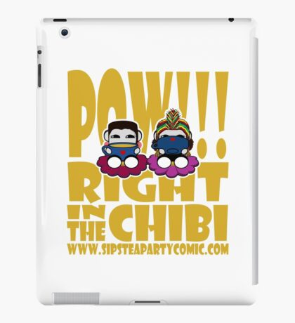 STPC: Pow!!! Right in the Chibi 2.0 iPad Case/Skin