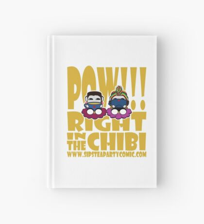 STPC: Pow!!! Right in the Chibi 2.0 Hardcover Journal