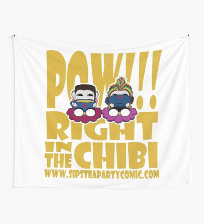 STPC: Pow!!! Right in the Chibi 2.0 Wall Tapestry