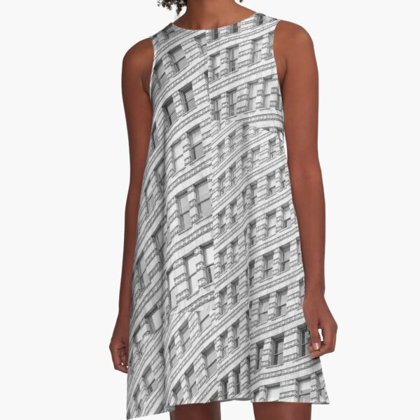 City Rhythm  A-Line Dress