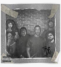 Top Dawg - Kendrick Lamar - Black Hippy Poster
