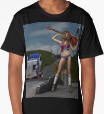 Hitchhiker   Long T-Shirt
