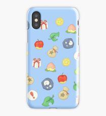 Animal Crossing Logo Pattern iPhone Case/Skin