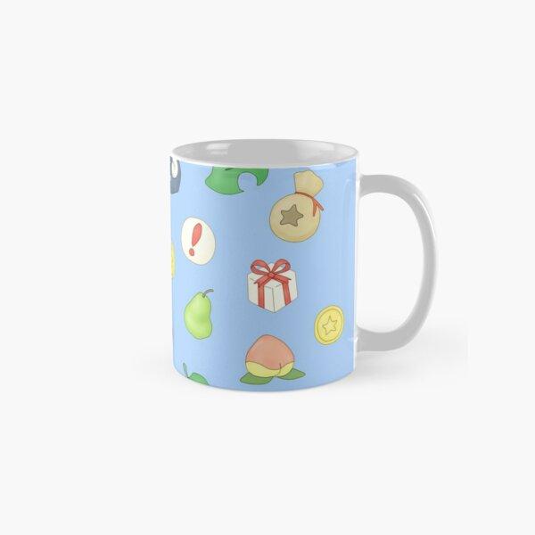 Animal Crossing Logo Pattern Classic Mug