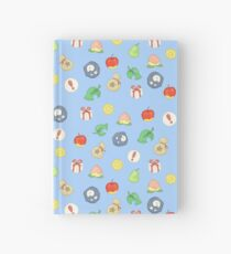 Cuaderno de tapa dura Animal Crossing Logo Pattern