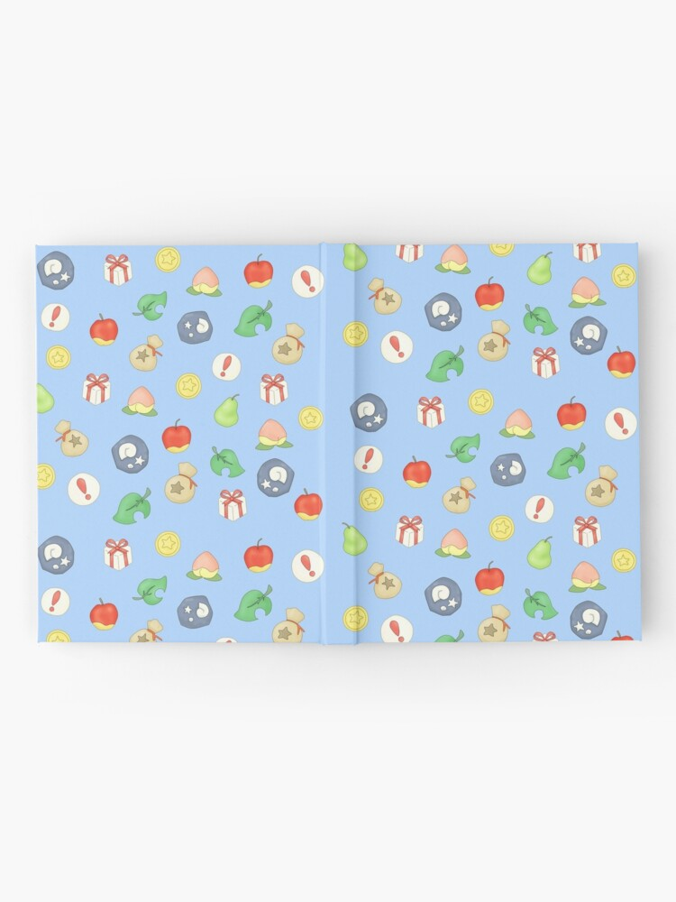 Alternate view of Animal Crossing Logo Pattern Hardcover Journal