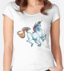 Savvy Unicorn Women's Fitted Scoop T-Shirt