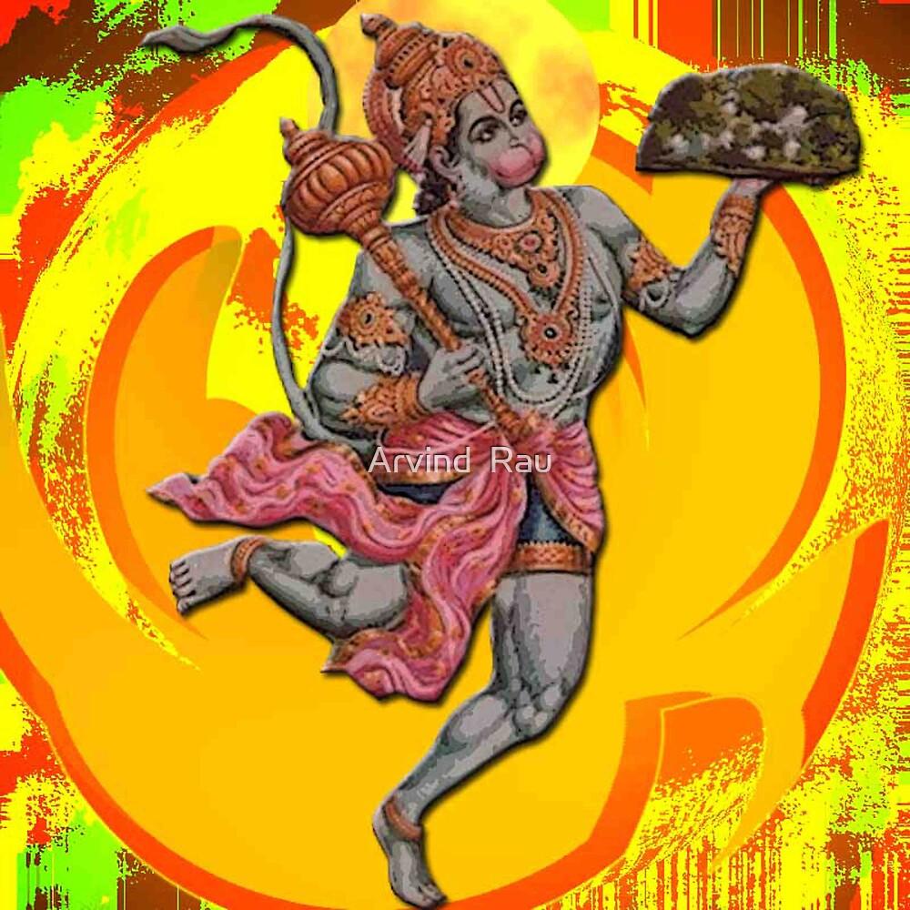 Lord Hanuman by Arvind  Rau