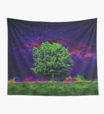 Warped Nature Wall Tapestry
