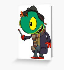 Doctor Who-loc Greeting Card